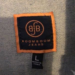 Boom Boom Jeans Jackets & Coats - Oversized distressed denim jacket